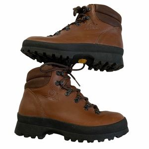 Scarpa Brown Leather Hiking Boots